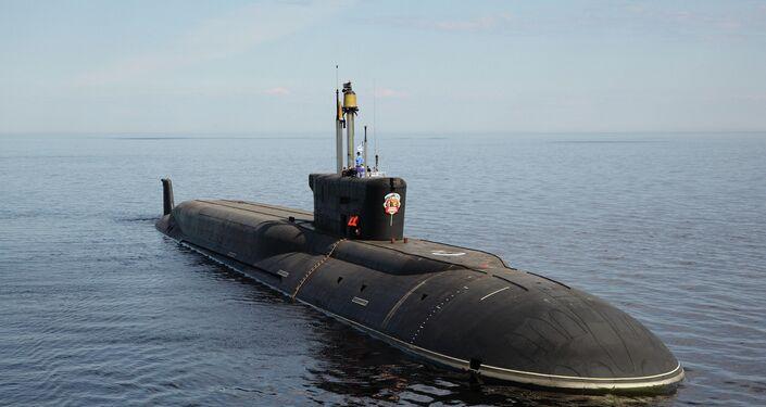 Submarino nuclear russa  Vladimir Monomakh