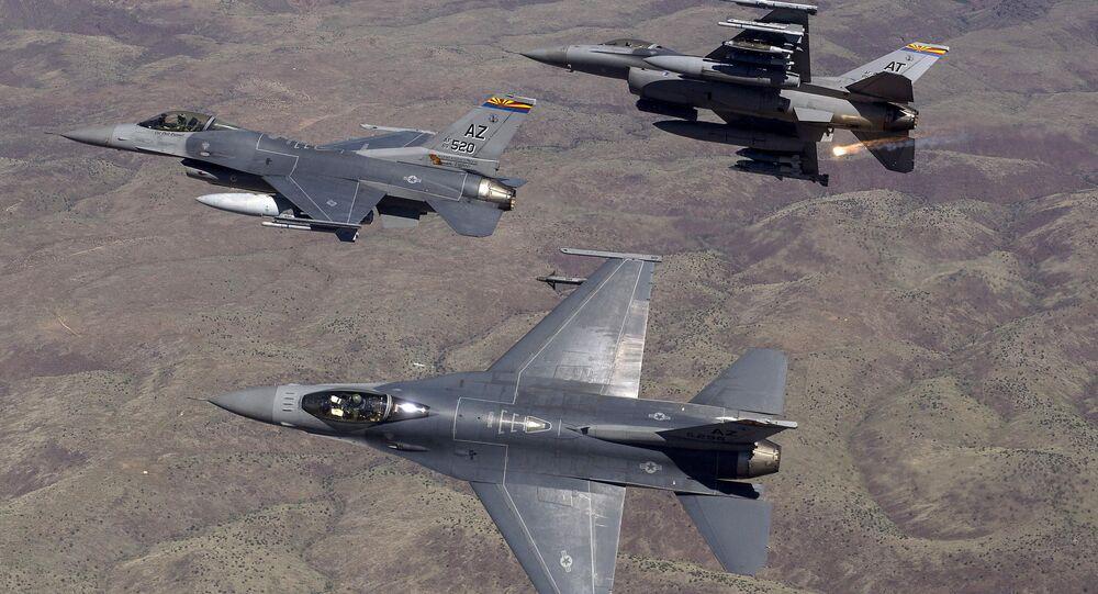 Caças da Força Aérea dos EUA
