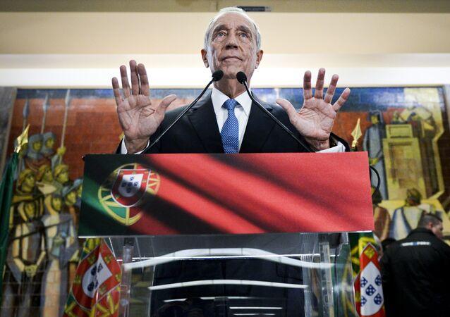 Presidente eleito de Portugal, Marcelo Rebelo de Sousa