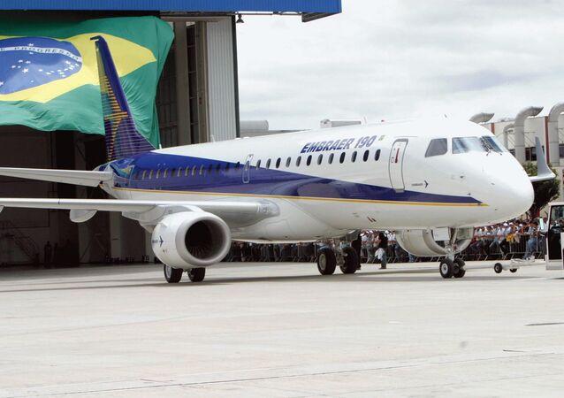 Modelo E190 da Embraer