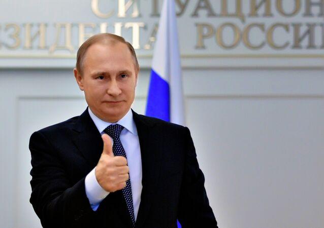 Vladimir Putin holds videoconference with Plesetsk Space Center