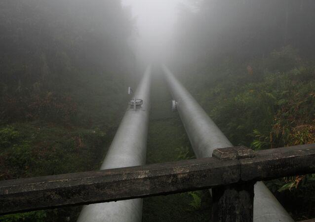 Gasoduto na Bolívia (arquivo)