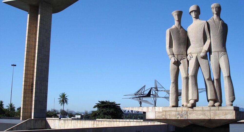 Monumento aos Pracinhas Rio de Janeiro