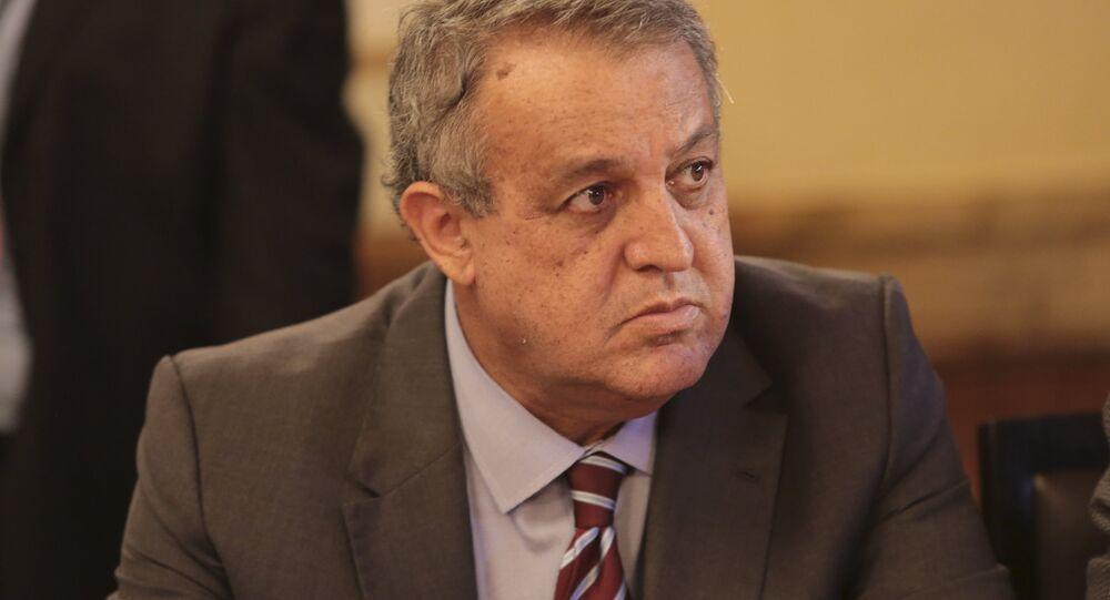 Ministro de Mineração e Petróleo da Venezuela, e presidente da PDVSA, Eulogio Del Pino