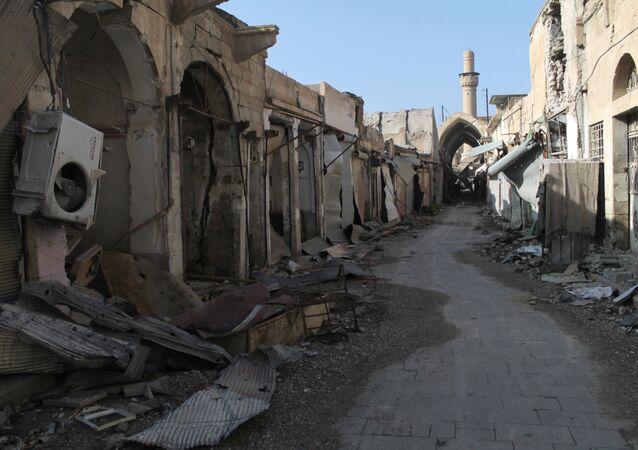 Cidade de Deir ez-Zor, cercada pelo Daesh