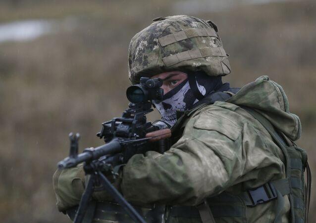Militar ucraniano (arquivo)
