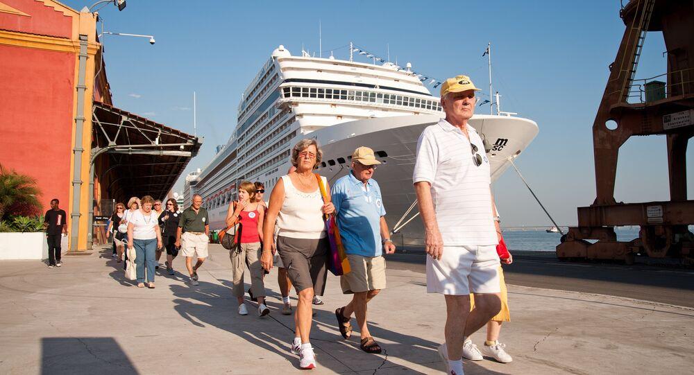 Rio recebe 130 mil turistas vindos de navios cruzeiros para o carnaval na cidade