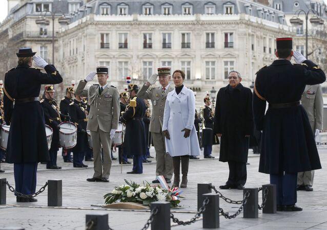Raúl Castro em Paris