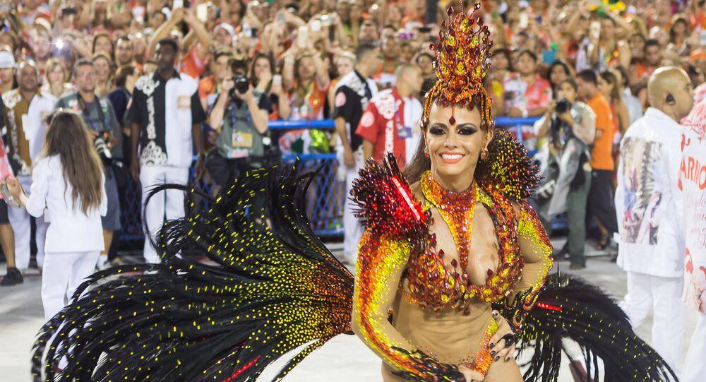 Desfile do Salgueiro no Carnaval 2015