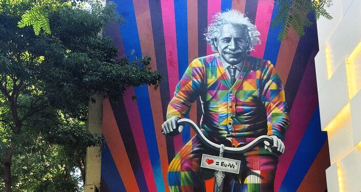 Genial é Andar de Bike, por Eduardo Kobra, São Paulo, Brasil