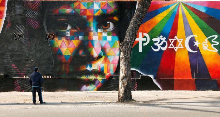 Malala Yousafzai, por Eduardo Kobra, Roma, Itália