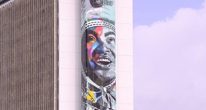 Luiz Gonzaga, por Eduardo Kobra, Recife, Brasil