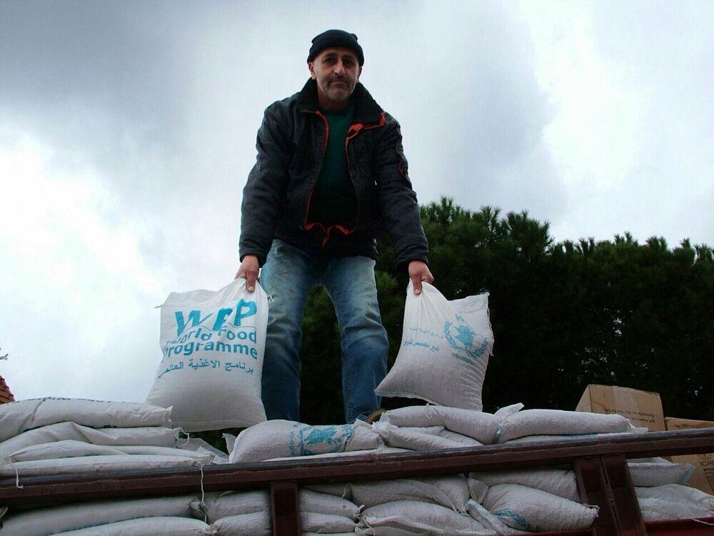 Ajuda humanitária russa chegou à cidade de Kessab, na província síria de Latakia