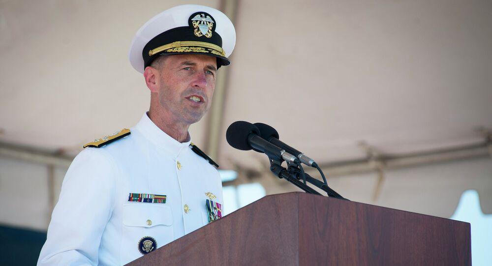 Almirante John Richardson, Chefe de Operações Navais dos EUA