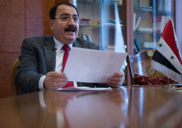 Riad Mohammad Haddad, embaixador da Síria na Rússia