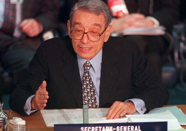 Boutros Boutros-Ghali, 6º secretário-geral da ONU (arquivo)