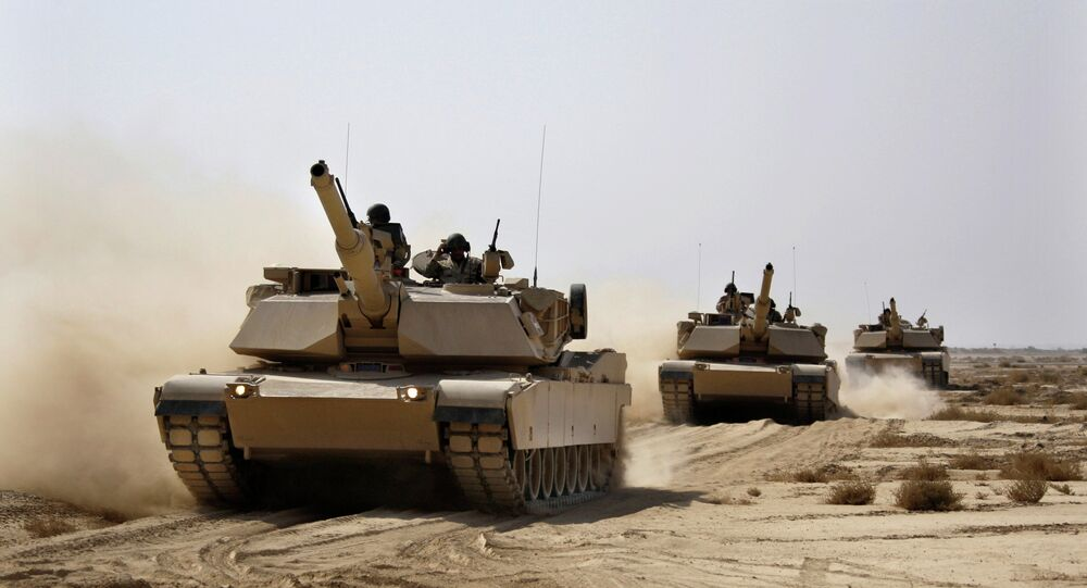 Tanques dos EUA Abrams