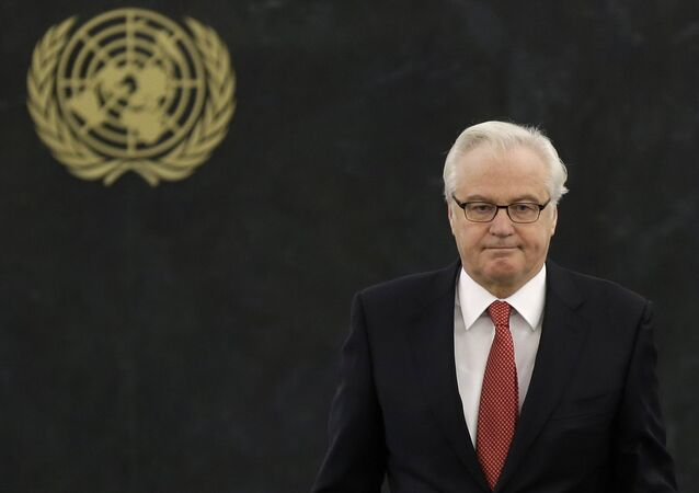 Embaixador da Rússia na ONU, Vitaly Churkin