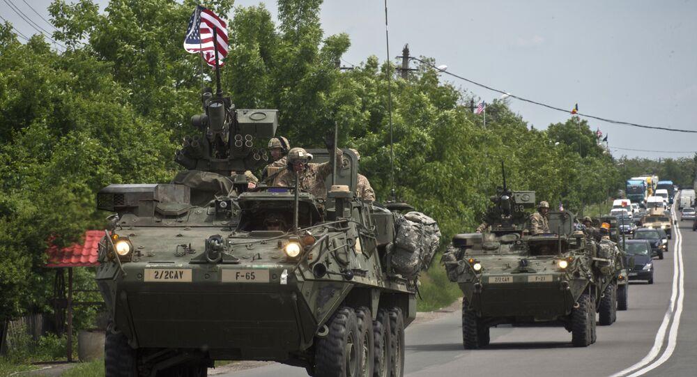 Veículos militares dos EUA