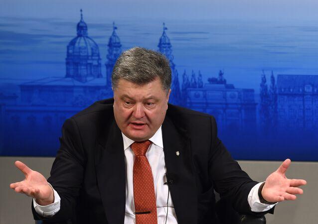 Na semana passada, Pyotr Poroshenko participou da conferência de segurança em Munique