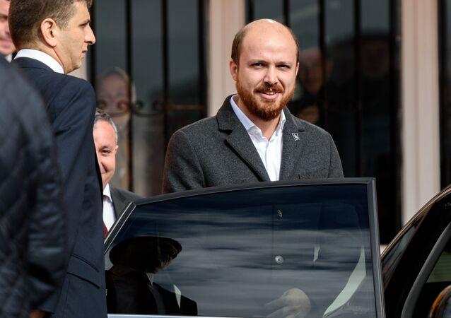 O filho do presidente turco, Bilal Erdogan, foto de arquivo