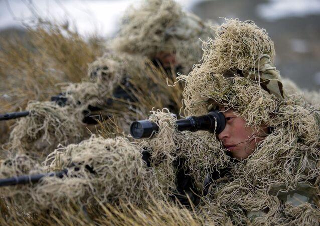 Treinamento do Corpo de Fuzileiros Navais do Exército de Libertação Popular da China