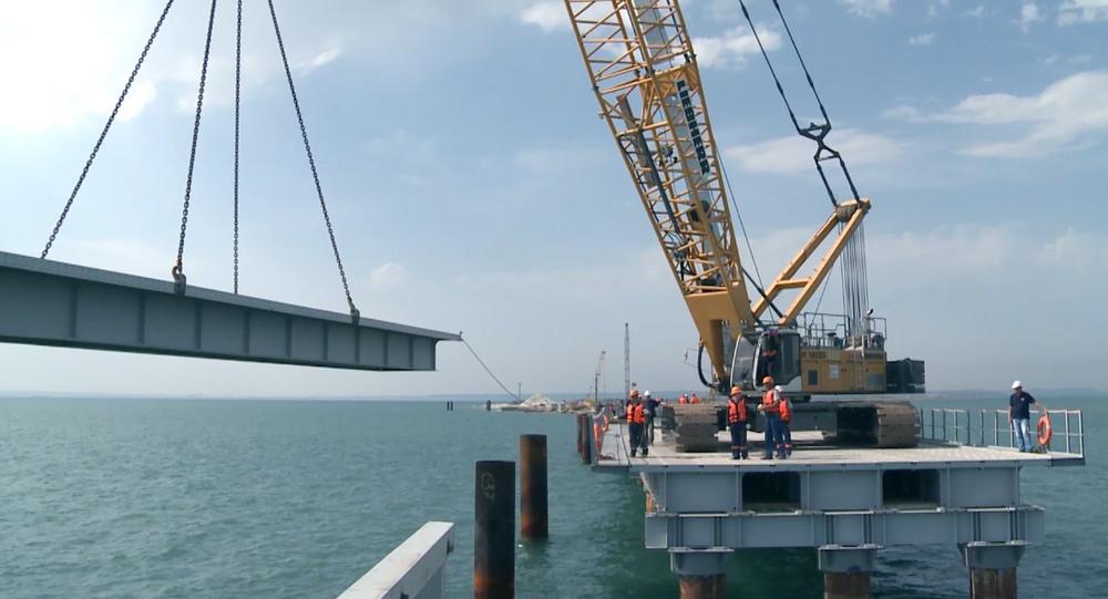 Construção de ponte sobre o Estreito de Kerch