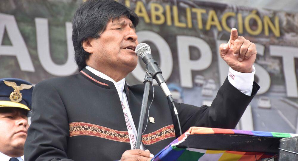 Presidente boliviano Evo Morales