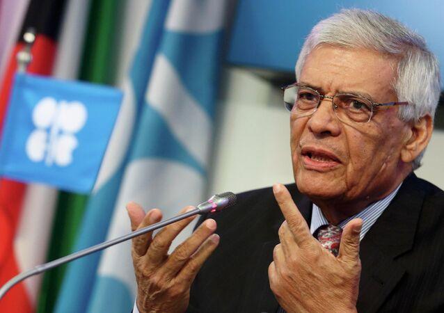 Secretário-geral da OPEP, Abdalla Salem el-Badri