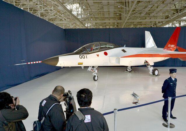 Primeiro avião Stealth do Japão, protótipo, 28 de janeiro, 2016