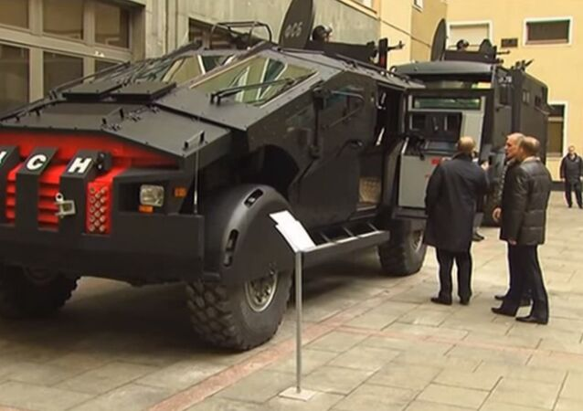 Veículo blindado Falcatus