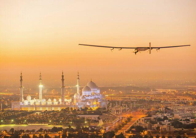Solar Impulse 2, avião movido a energia solar