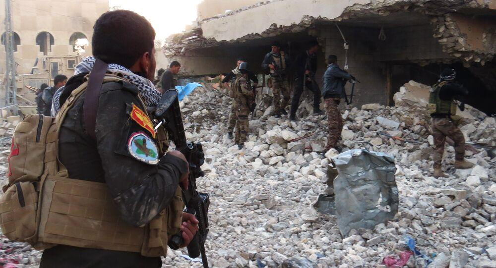 Forças de segurança do Iraque na província de Anbar após combates com o Daesh (arquivo)