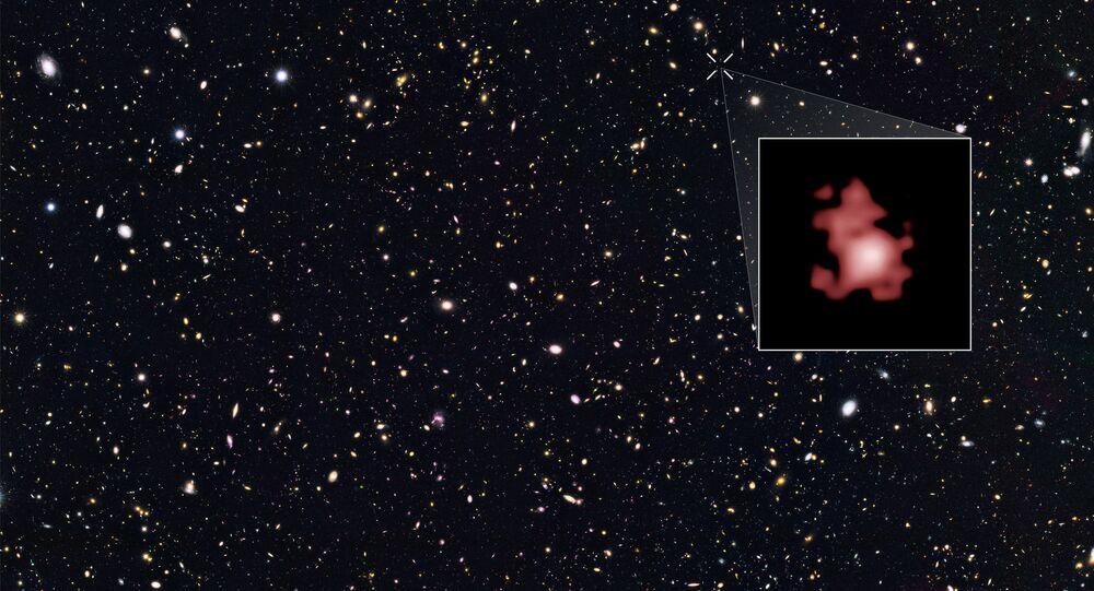 GN-z11, a galáxia mais distante já vista