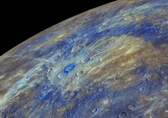 Superfície de Mercúrio