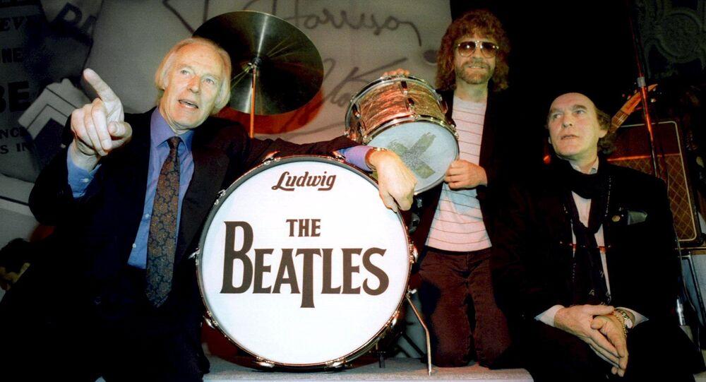 Ex-produtor dos 'Beatles', George Martin