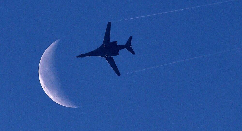 Bombardeiro B1 da Força Aérea dos EUA