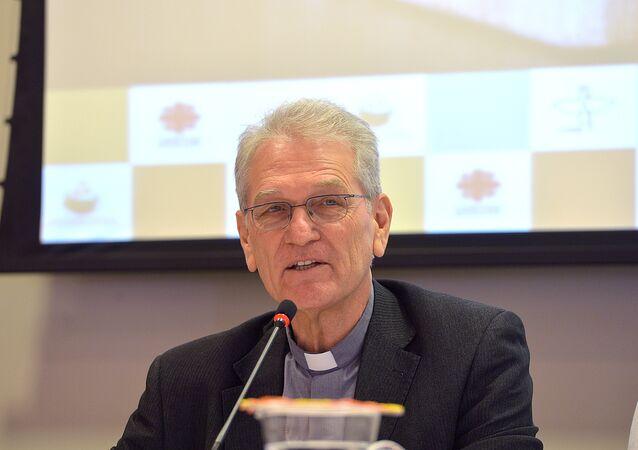 Secretário-geral da Conferência Nacional dos Bispos do Brasil (CNBB), dom Leonardo Ulrich Steiner