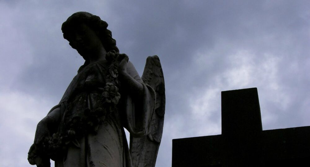 Cemitério no México