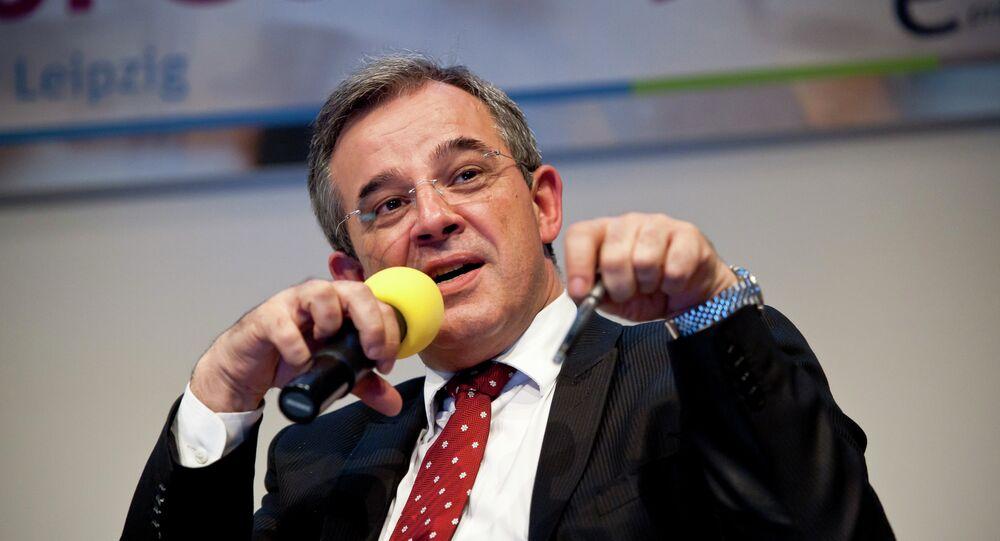 Thierry Mariani, deputado da Assembleia Nacional da França e membro da Comissão dos Assuntos Estrangeiros