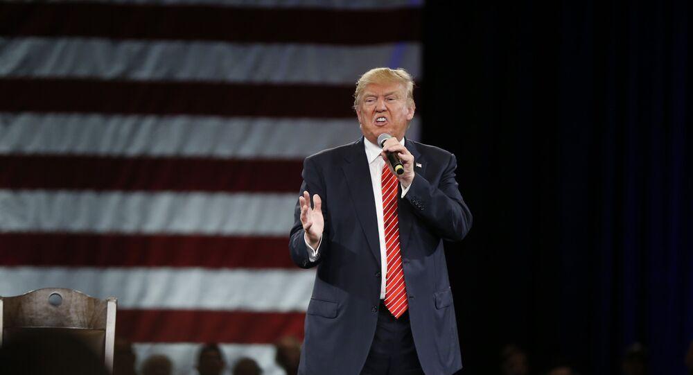 Donal Trump, pré-candidato à presidência dos EUA pelo Partido Republicano