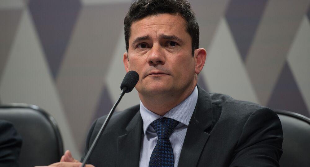 Juiz federal Sérgio Moro