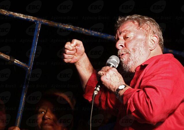 Lula discursa na Avenida Paulista, 18 de março de 2016