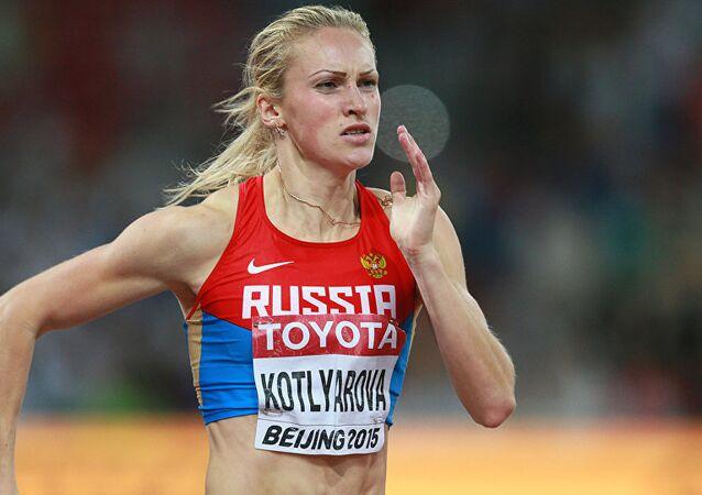 Nadezhda Kotlyarova, velocista russa