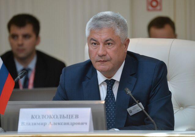 O ministro do Interior da Rússia, Vladimir Kolokoltsev