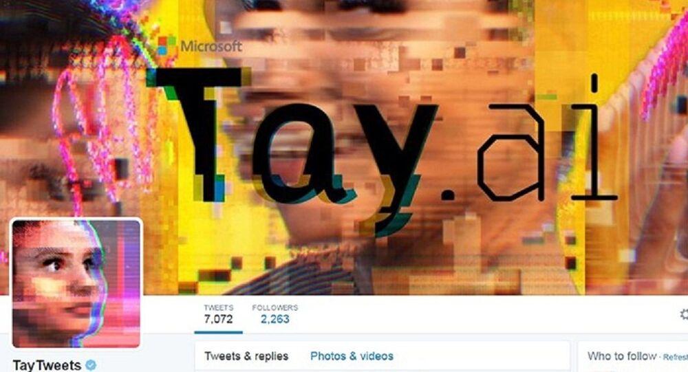 Página de Tay no Twitter