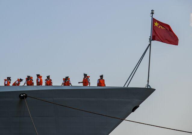 Navio chinês (foto de arquivo)