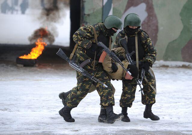 Exercícios antiterroristas na Rússia