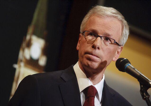 Ministro das Relações Exteriores do Canadá, Stephane Dion
