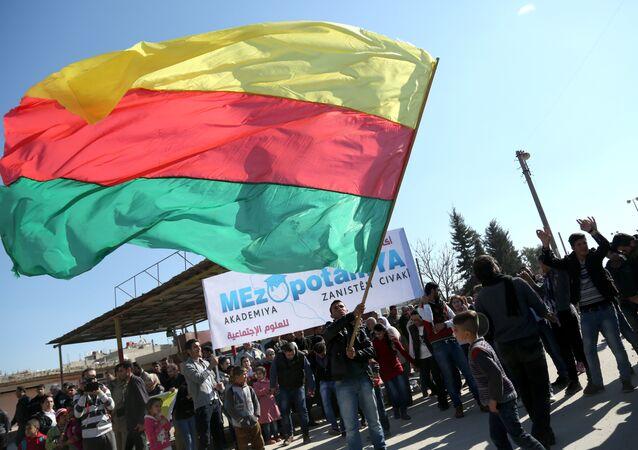 Bandeira do Partido da União Democrático (PYD)